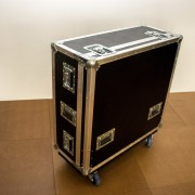 Hauben-Case für Yamaha QL 5 mit Cablebox.